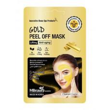 Подтягивающая маска-пленка с коллоидным золотом, 7г х 3шт, Mbeauty